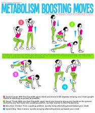 Metabolism Boosting Moves