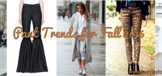 fall pant trends
