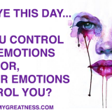 Taking Back Emotional Control